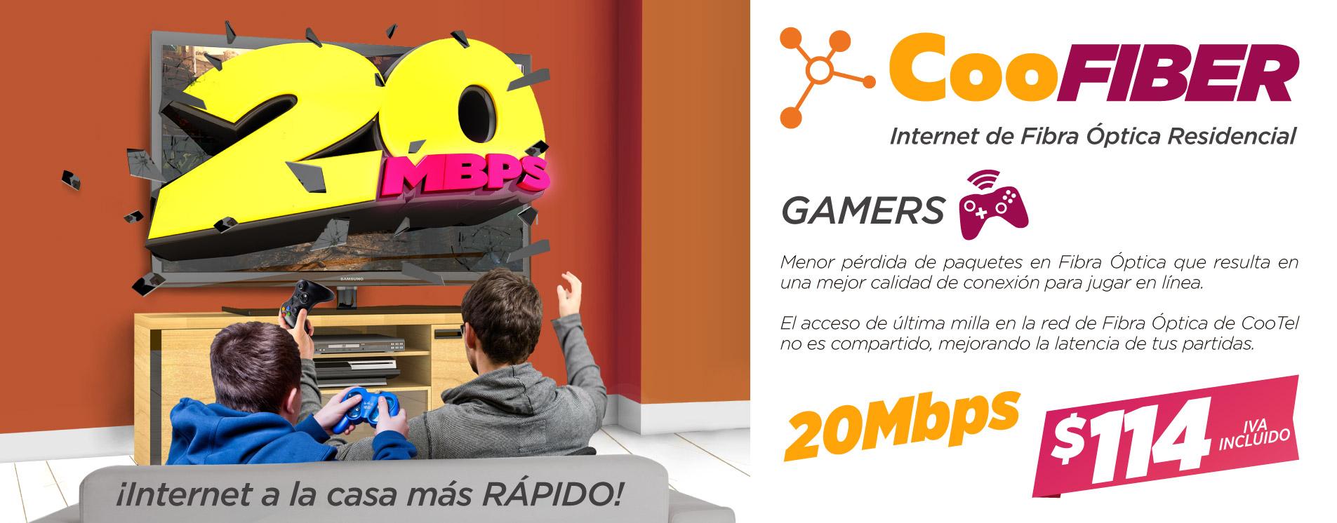 CooFIBER para Gamers
